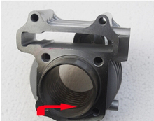 STARPAD for Motorcycle parts GY6 engine for ultra-wearable laser ZF150 sets of cylinder sleeve cylinder wholesale,Free shipping(China)