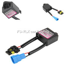 HID canbus decoder harness HID xenon light ballast decode device Anti Flicker Error xenon HID warning canceller capacitor for VM