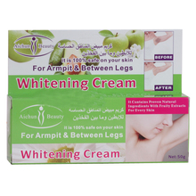 10PCS/lot Aichun armpit whitening cream Natural underarm whitening cream without pain for Legs knee exfoliating private parts