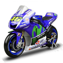 Maisto 1:18 Motor Cycle Yamaha Ducati Model Metal & Alloy Yamaha Moto GP Mini Racing Motorcycle Toys Simulation Car Toy Gift(China)