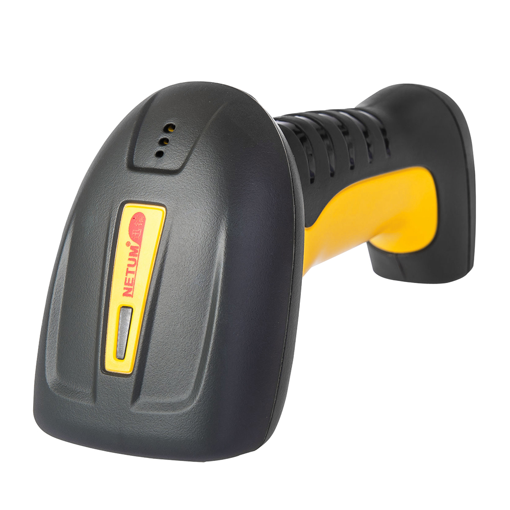 waterproof Handheld Laser Supermarket Barcode Scanner USB Bar Code Reader For POS System NT-1208 with stand<br>