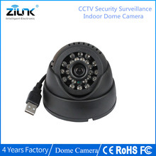 ZILNK CCTV Dome Camera 420TVL Night Vision 24 IR LED Micro TF SD Card Recording Home Security Camera(China)