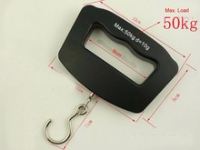 Free shipping 50kg/10g big handle Portable LCD backlit Digital travel Luggage scale baggage scale belongings scale