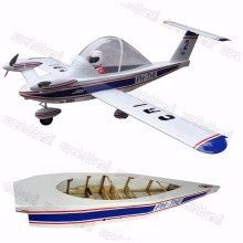 "Buy Electric plane CRI-CRI 70"" 6 Channels ARF Large Scale Balsa Wood RC Airplane Model for $167.20 in AliExpress store"