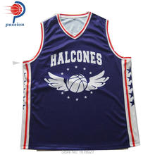 Mens hot selling custom new design baketball playing jersey High Quality Custom Design cheap basketball