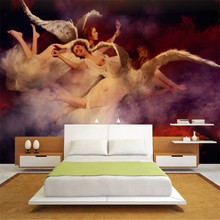 Buy angel 3d wall murals wallpaper and get free shipping on