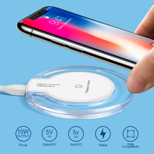 Buy Qi Wireless Charger Charging Pad Original Samsung Galaxy S8 Plus S7 S7 Edge S6 Edge Note 8 Lumia 920 iPhone X iPhone 8 Plus for $4.99 in AliExpress store