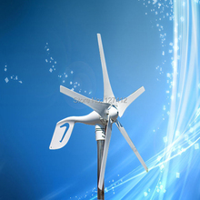 Direct Factory Price 400W Wind Turbine Generator with 5PCS Blades,12VAC Output. Best Sales-After Service(China)