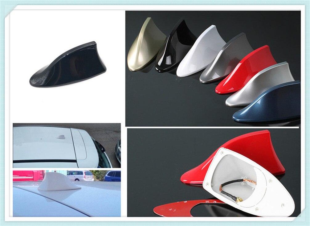 Car shape shark fin signal radio roof tail antenna modification for Chevrolet Miray Caprice Agile Stingray Aveo5