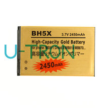 2450mAh BH5X Gold Replacement Battery For Motorola ME811 Droid X Xtreme MB810 X2 MB870 Batteries Batteria Batterij