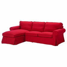 EKTORP Two Seater sofa Slipcovers and chaise longue Cover Brand Customized Sofa Cover High Quality