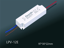 12W 36V 0.33A LED constant voltage waterproof switching power supply IP67 LPV-12E-36(China)