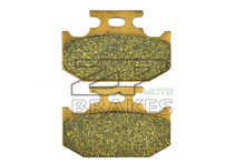 BIKE New Brake Pads Organic Fit Rear KAWASAKI KX 500 E1-5 1989-1993,KDX 200 H1-H2 1995-1999 OEM BRAKING Free Shipping(China)