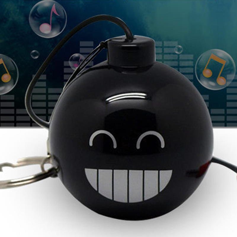 Mine Shape Mini Wired Speaker 3.5MM Audio Dock Music Sponge Ball Speaker MP3 Sound Box
