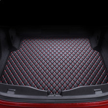 High quality car trunk mat for Chevrolet 2017 2018 Cruze TPE+XPE Anti-slip  leather trunk pad  floor mat 3D car style