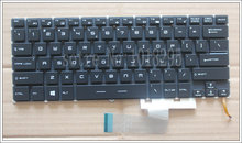 NEW US Laptop Keyboard For for MSI Steelseries GS40 GS40-6QE81FD Keyboard Backlit