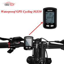 iGPSPORT iGS10 Wireless Waterproof GPS Cycling Bike Computer  ANT+ GPS Bluetooth Bicycle Wireless Stopwatch Speedometer