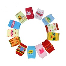 12 pairs a lot cute Infant & Toddler crawling protector knee pads baby leg warmers knitted knee cap(China)
