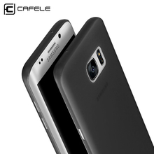 Original CAFELE Case for Samsung Galaxy S7 Candy color PP Fashion Utral Thin Frosted Translucent Case for Samsung Galaxy S7 edge