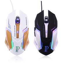 Snigir brand 3200Dpi Laptops computer USB Computer Wired gaming mouse for PC notebook gamer mause dota2 CSgo games sem fio mice(China)