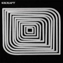 KSCRAFT New Frames Metal Cutting Dies Stencils for DIY Scrapbooking/photo album Decorative Embossing DIY Paper Cards(China)