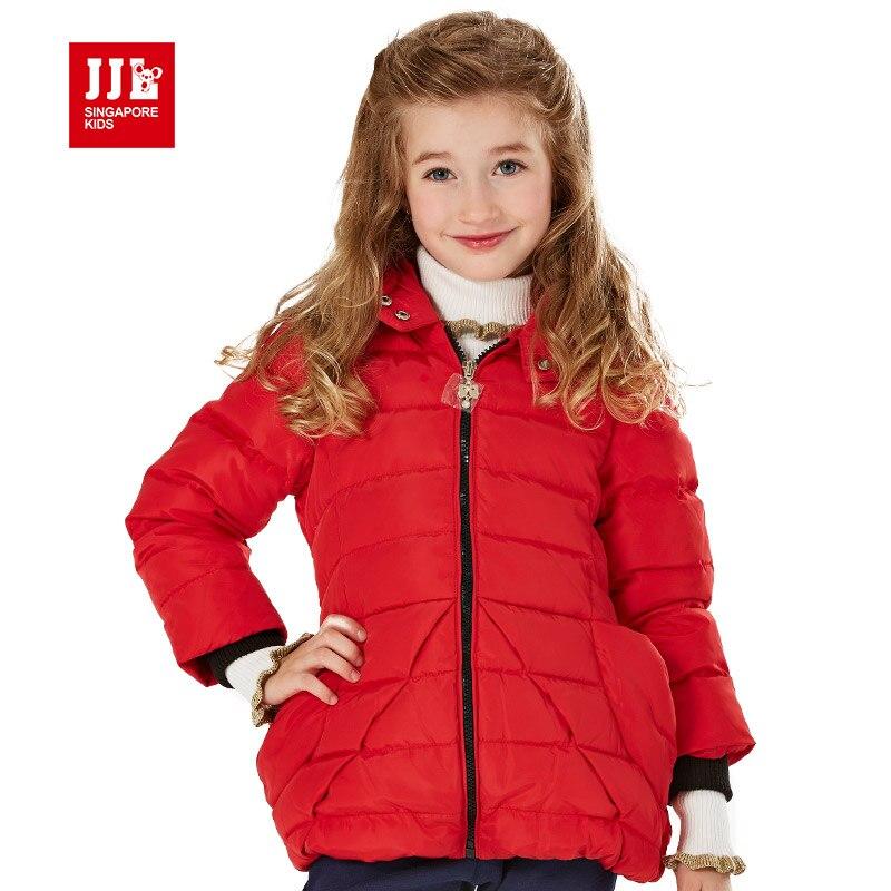 girls winter coat kids down parka 80% white duck down winter jacket for girls kids outwear brand kids winter jacket redОдежда и ак�е��уары<br><br><br>Aliexpress