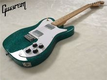 Electric guitar/Gwarem 2018 new luck star tele guitar/blue color/guitar in china(China)
