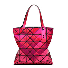 Hot Sale Bao Bao Lattice Ladies Laser colors Bag Geometric Diamond Fashion Handbag Luxury Shoulder Bag Top Design Shopping Bag