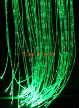 Bing Vision DIY  LED  optic fiber  curtain,   3*0.75mm PMMA  optic fiber cable ,
