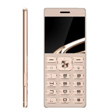 "MPARTY LT1 Phone Super Mini Ultrathin Card Luxury MP3 Bluetooth 1.77""inch Dustproof Shockproof Metal Body Phone(China)"