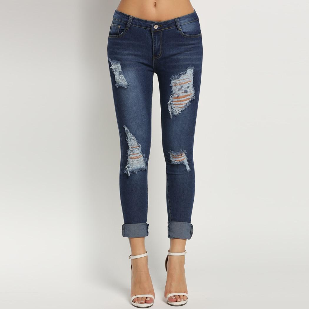 Fanala Autumn Pencil Jeans Woman Denim Pants Fashion Mid Waist Full Length Zipper Slim Fit Skinny Women Jeans Pants Plus SizeОдежда и ак�е��уары<br><br><br>Aliexpress