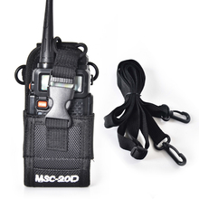 New MSC-20D Nylon Bag Pouch Holster Case for Baofeng Motorola Kenwood Radio walkie talkie