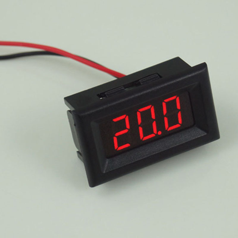 High Quality Mini Two Wires Digital Voltmeter Red LED Display DC2.5-30V Voltage Meter Voltage Detector  CA1T<br><br>Aliexpress