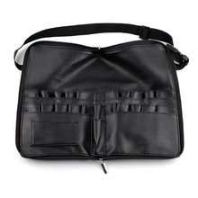 eTya Pro Display Case Artist Belt Strap Cosmetic Makeup Brushes PU Holder  Apron Bags a08556c10b0ca