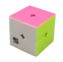 HOT 2015 Brand New MoYu YuPo 2x2 Magic Cube (50mm) 2 Layers Stickerless Speed Twist Square Cubo Magico Puzzle Educational Toy