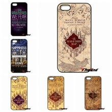Cool Harry Potter Marauder's Map Plastic Case For HTC One M7 M8 M9 A9 Desire 626 816 820 830 Google Pixel XL One plus X 2 3(China)