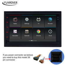 Funrover Car DVD Player old vw Original android Radio gps Navigation ISO Plug For Passat B5 Golf 4 Polo Jetta 2001-04 RDS Canbus
