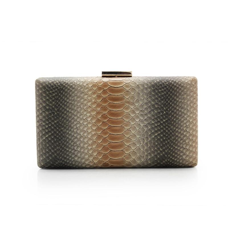 women bags evening bag snake skin pattern evening bags women clutch banquet party purse (C606)<br>