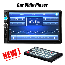 Hot Car Video Player Car MP3 MP4 MP5 Audio 2 Din DVD 7'' HD Touch Screen Bluetooth Stereo Radio USB Auto Electronics In Dash