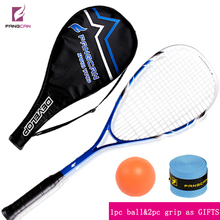 FANGCAN brand high quality squash racket made of aluminum+titanium for entry level(China)