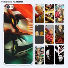 Anime Bleach One Punch Man Thin White Case Cover for Xiaomi Mi 6 5 5s Plus 4 4c 4s Redmi 3 3s 4A Note3 4X
