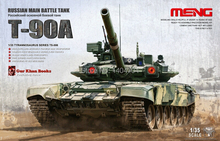 Meng model TS-006 1/35 RUSSIAN MBT MAIN BATTLE TANK T-90A plastic model kit,model tank(China)