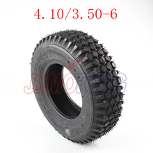 "Scooter Tires 6"" Lawn Mower/Snow&Mud Tyre 4.10/3.50-6 Brand Tyre for 6*3.25 Wheel Rim (Scooter Parts & Accessories)(China)"