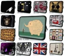 Free shipping Neoprene laptop sleeve case 10 12 13 14 15 inch computer bag notebook smart cover for ipad MacBook wholesale