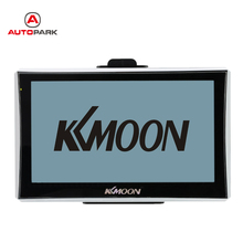 "KKmoon 7"" HD Touch Screen Portable GPS Navigator 128MB RAM 4GB ROM FM MP3 Video Play Car Entertainment System with Back Support(China)"
