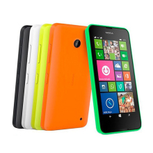 "Unlocked single/Dual Sim Mobile Phone Nokia Lumia 630 Windows phone 8.1 Snapdragon 400 Quad Core 4.5"" Screen 3G Refurbished(China)"