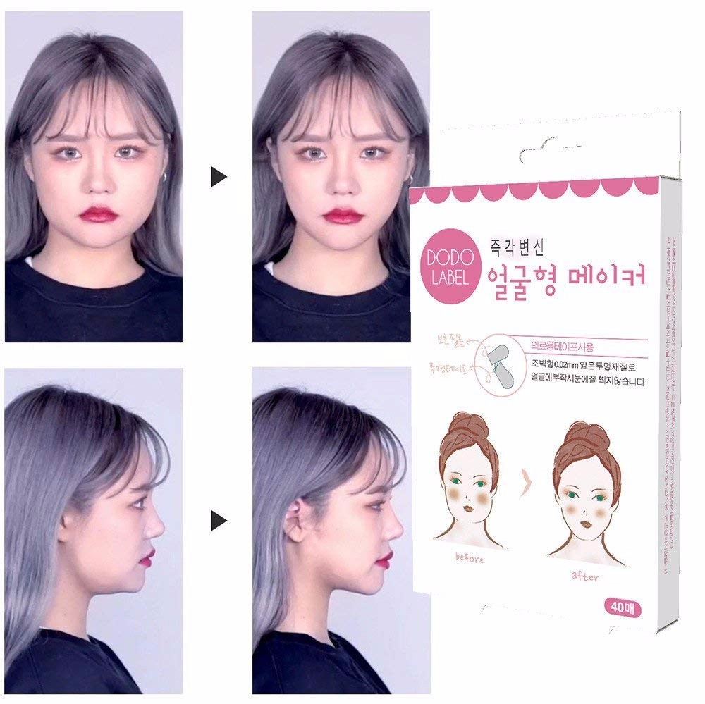 Face-Lift-Tape Skin-Sticker Facial-Line Scotch Wrinkle V-Shape Invisible for Thin Sagging title=