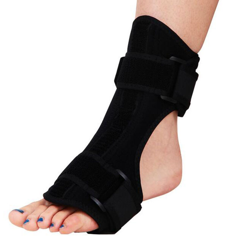 Medical Foot Drop Orthosis Support Nightime Brace Dorsal Aluminum Splint Plantar Fasciitis Ankle Sprain Achilles Tendinitis<br>