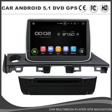 9 Inch 1024*600 Car DVD GPS Player For MAZDA 6 MAZDA6 ATENZA 2017 Android 5.1 Radio Bluetooth Mirror Link Wifi CANBUS RDS 8G MAP