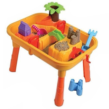 A Set(25pcs) Kids Children Sand and Water Table Garden Sandpit Play Set Toys(China)
